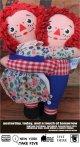 RAGGEDY ANN♥ANDY  KnickerbockerEMBRACEABLES DOLL