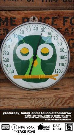画像1: OWL VINTAGE THERMOMETER