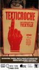 TEXTICROCHE VINTAGE SIGN BOARD