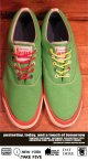 "CONVERSE SKIDGRIP ""JAMS"" MADE IN U.S.A.  GREEN SIZE 12"