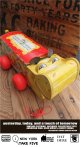 """FISHER PRICE 1962 """"HAPPY HIPPO"""" PULL TOY"""