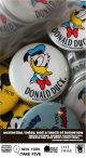DONALD DUCK 1970'S VINTAGE D.STOCK  BUTTON PIN