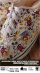 "MICKEY MOUSE VINTAGE  VANS ""MADE IN U.S.A."" AUTHENTIC"