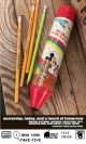 "MICKEY MOUSE D.STOCK ""RED"" PENCIL CASE"