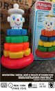 "PLAYSKOOL VINTAGE ""CLOWN STACK"" TOY"
