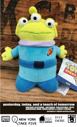 "画像1: TOY STORY ""ALIEN"" PLUSH DOLL"