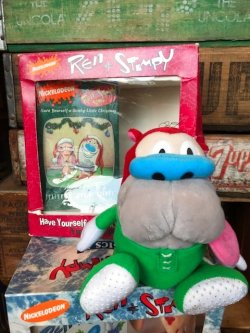画像1: STIMPY D.STOCK PLUSH DOLL & VIDEO
